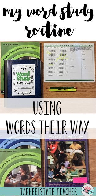 Bring a word study routine into your elementary classroom or homeschool. See exactly how I make word study with Words Their Way work in my classroom. While the post is geared mostly for your 3rd, 4th, 5th, and 6th grade upper elementary students - you can