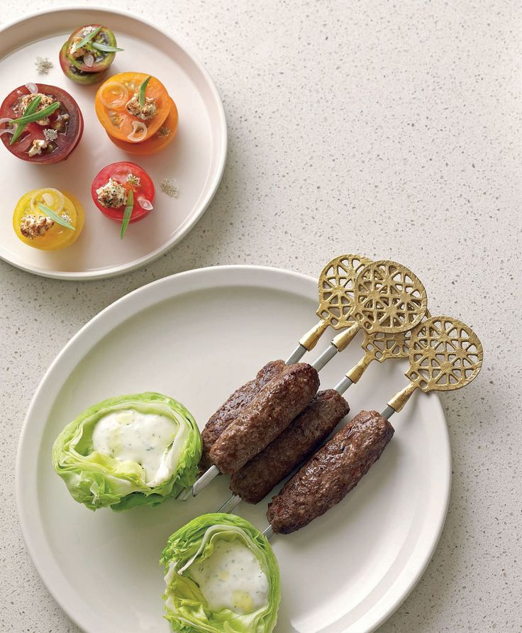 Butcher's köfte kebabs recipe from New Middle Eastern Food by Greg Malouf | Cooked
