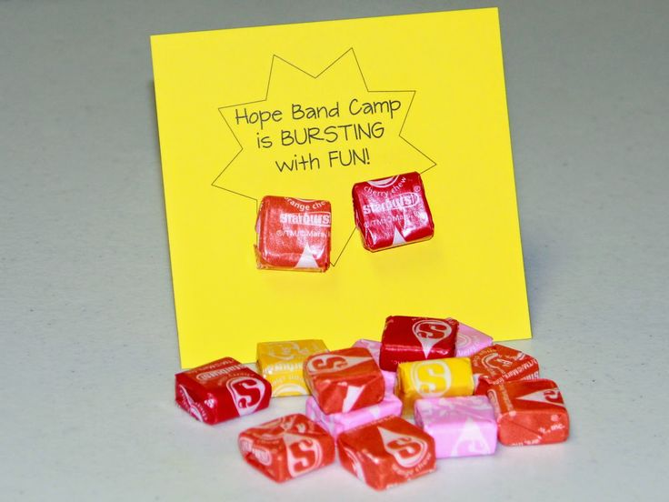 Marching Orangemen: Band Camp Treats - Hope Band Camp is Bursting with fun!