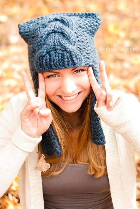 Instant Download Knitting Pattern Knit Hat Pattern от pixiebell