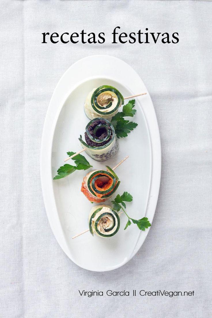 Recetas festivas CreatiVegan (2014)  Recetario festivo 2014, incluye recetas de salsas, sopas, bocaditos, para picar, platos para compartir y dulces, con ingredientes fáciles de encontrar y una preparación sencilla.