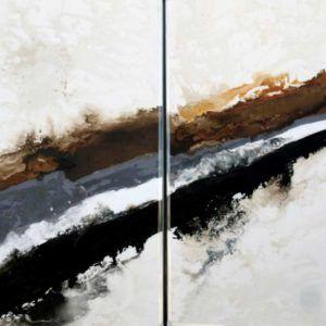 Abstracto-negro-gris-marrón
