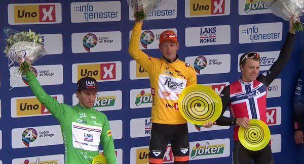 Pieter Weening (Roompot Oranje Peloton) wins Tour of Norway 2016