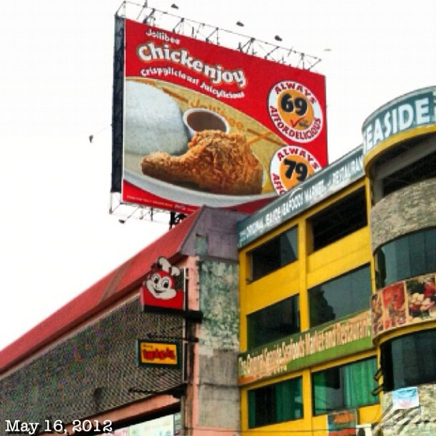 Jollibee! My Fave fast food in the Philippines!