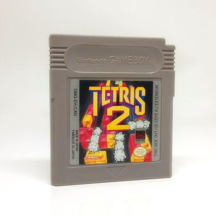 Tetris 2 Nintendo Game Boy game, includes cartridge only. Cleaned, tested and comes with a FREE cartridge bag! The mesmerizing fun of Tetris returns - and the challenge escalates to new heights! Test