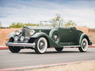 Packard Twelve Coupe Roadster – 1933