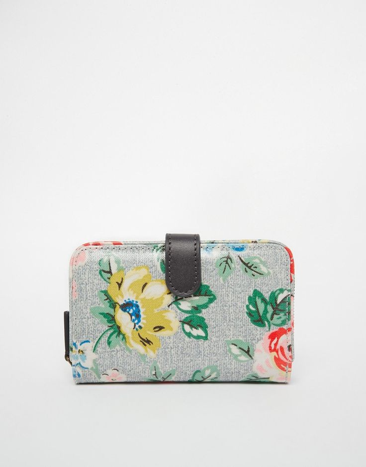 Cath Kidston Folded Zip Wallet in Classic Floral Print