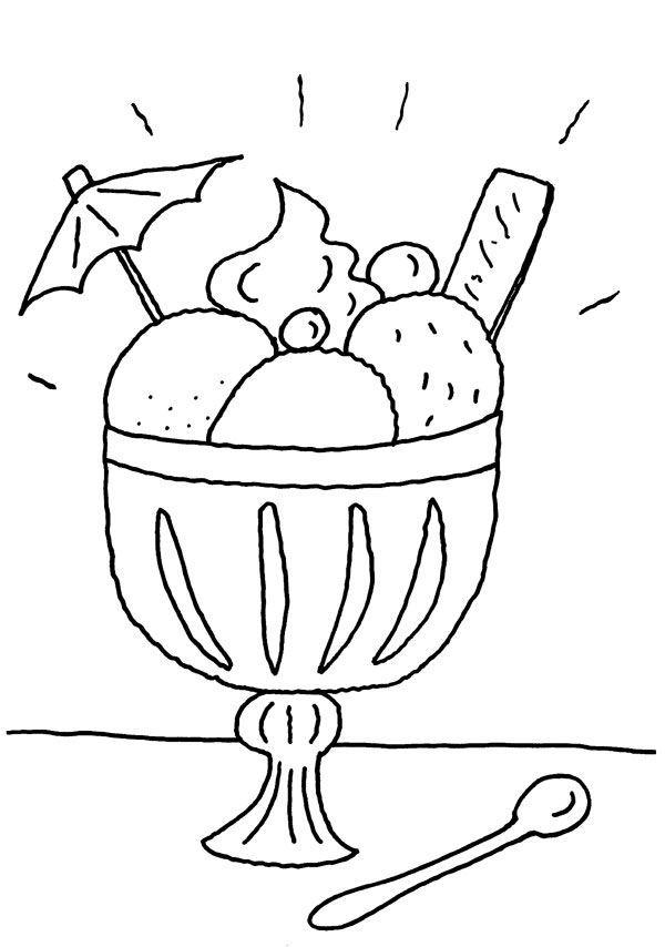 Helados | cocina | Pinterest | Dibujos para pintar, Pintar y Dibujo