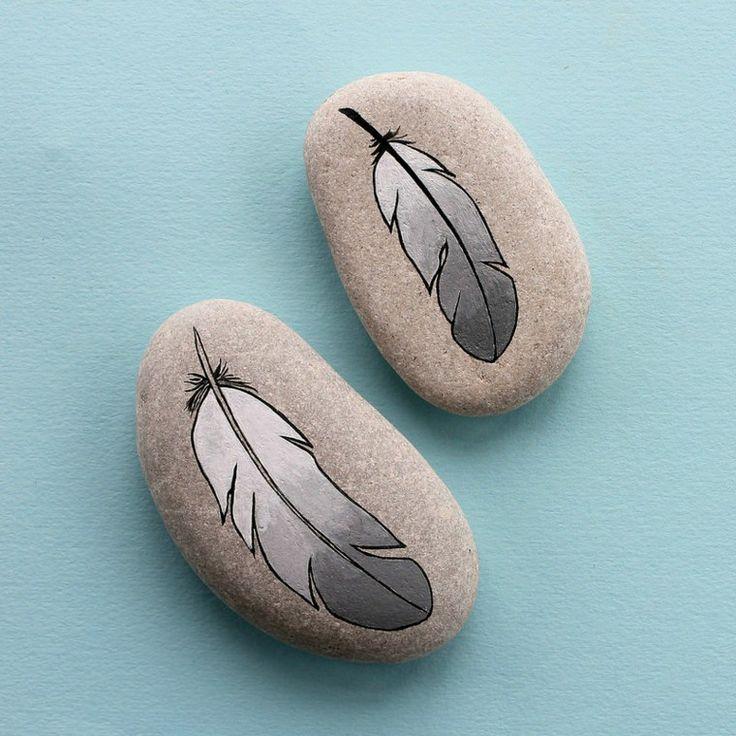 Stones gemalt, um Ihr Haus auf originelle Weise zu dekorieren