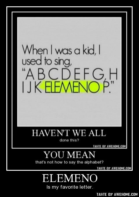 So funny, I remeber doing that too!