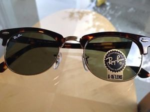 1320b0505d Ray Ban Clubmaster 51mm Tortoise
