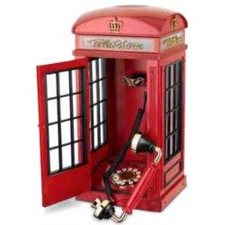 Love London, love this traditional telephone box model |Free delivery in Australia at Red Wrappings|