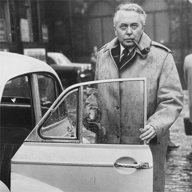 Harold Wilson 1916-1995 British Prime Minister 1964-70 and 1974-76