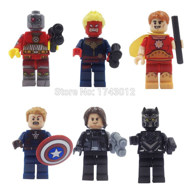 Marvel Super Heroes Minifigures 8 шт./лот Архангел Псайлок Iceman Росомаха X-man Классические Строительные Блоки подарок