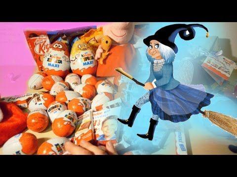 E' Arrivata la befana♥ kinder sorpresa♥ Peppa Pig Italiano ♥Surprise Egg...