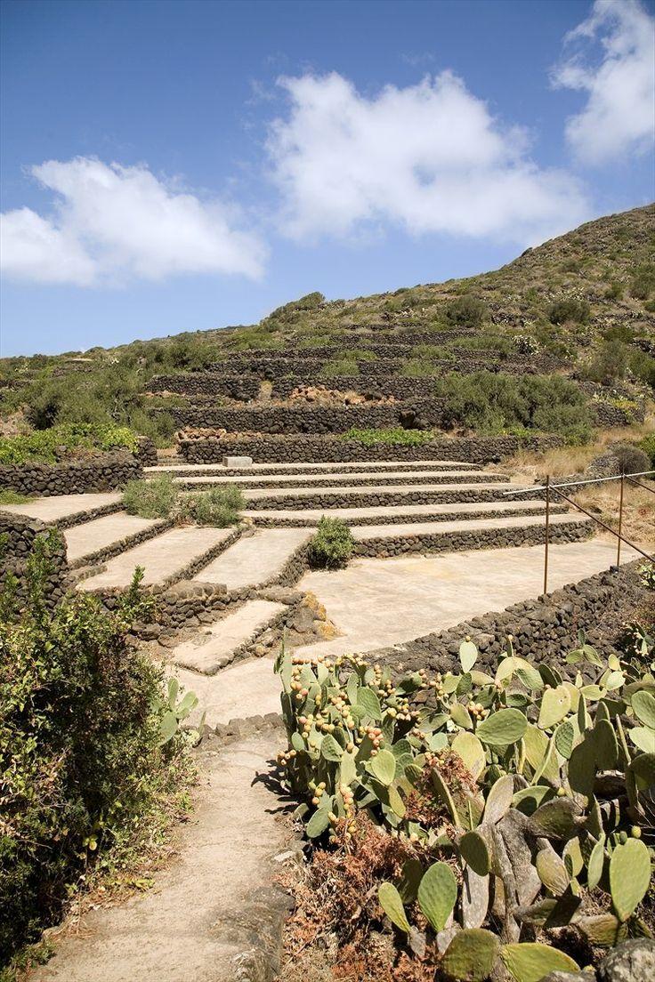 Casa Pantelleria Albanese by ASA Studio Albanese, Landscape of Sicily