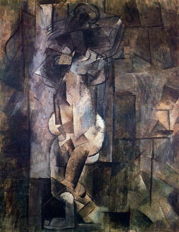 Пабло Руис Пикассо. Обнаженная фигура