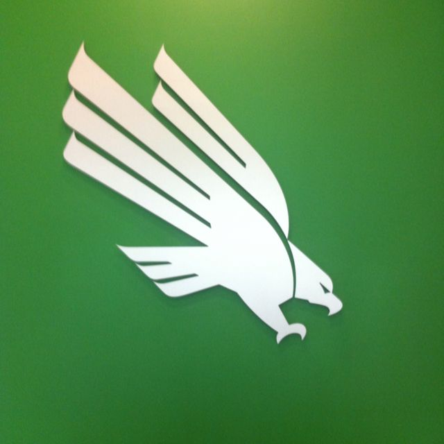 University of North Texas eagles