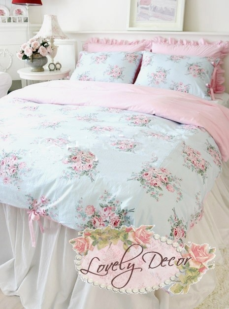Shabby Chic Duvet Cover 3pcs Set Sewing Shabby Chic