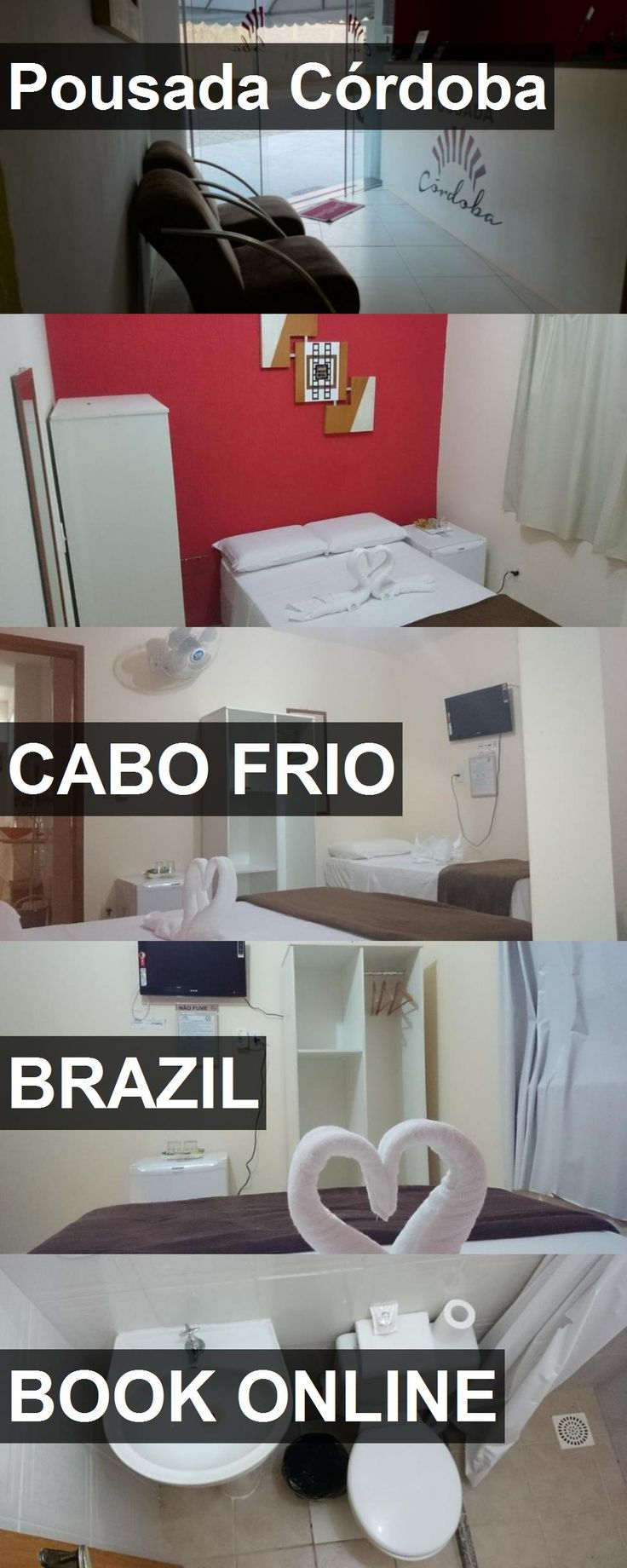 Hotel Pousada Córdoba in Cabo Frio, Brazil. For more information, photos, reviews and best prices please follow the link. #Brazil #CaboFrio #travel #vacation #hotel
