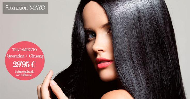 ⇀ 5 beneficios en 5 minutos ↼  ☼ Prepara tu #cabello para este #verano con el tratamiento Maskelastic #Queratina con #Ginseng.  ¡Pide cita YA! #beutips #descuento #promoción #pelo #hidratar #elasticidad #pelosano  #hairobsession #hairstyle #estética #keratin #belleza #longhair #straighthair
