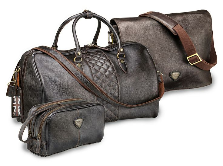 Arrive in style with our new pebbled-leather bags. Find them at shop.triumphmotorcycles.com (Canada: shop.triumph-motorcycles.ca) or at your local Triumph Dealer.