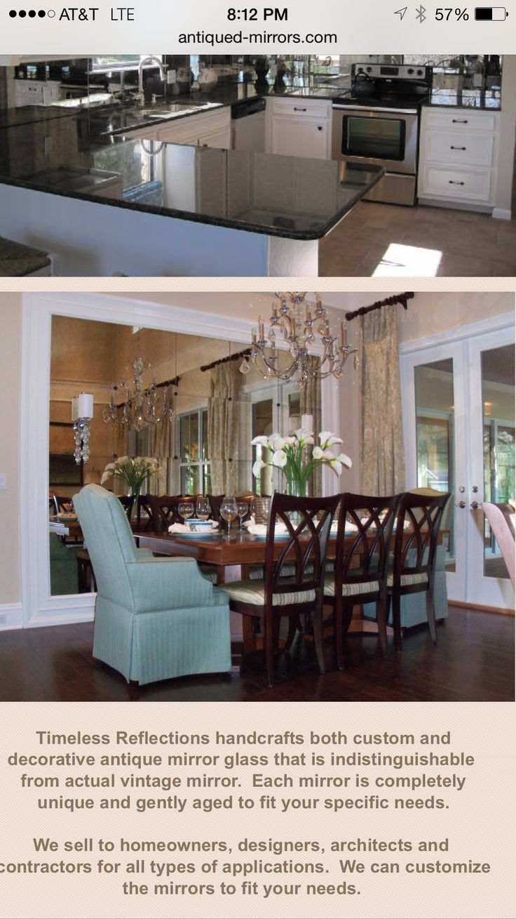 105 best images about Antique Mirror Glass on Pinterest