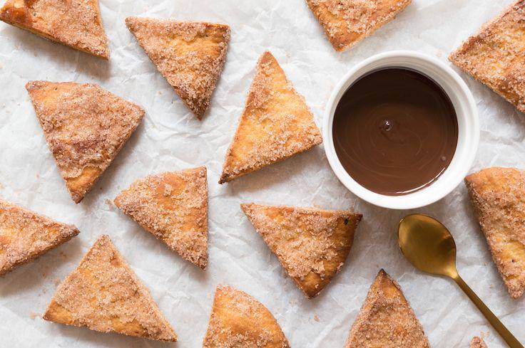 Culy Homemade: churros chips met kaneelsuiker