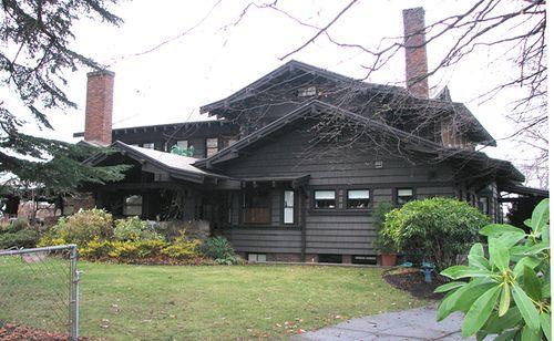 1914 Wilbur Reid House - My dream house right down the street