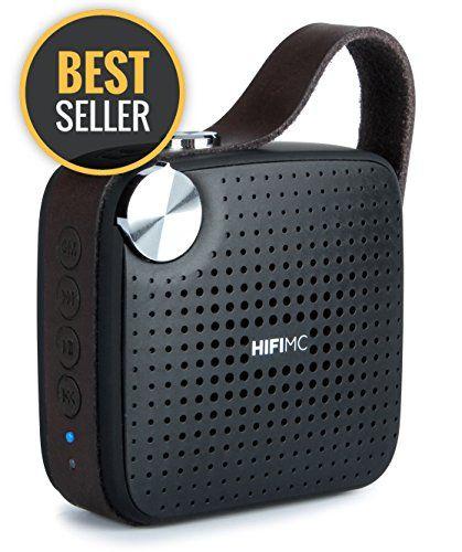 Amazon Prime Best Deals - Premium Portable, Bluetooth Speaker : HIFI MC Micro Music System, by Modern Portable - With Wireless, Premium Sound, Rich Bass, Louder Volume, Waterproof, Mic, Radio - Black.