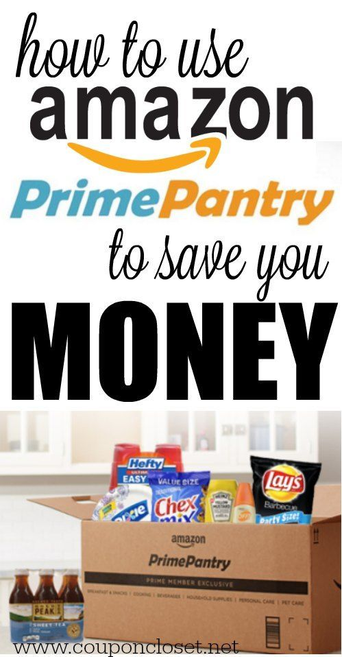How to Use Amazon Prime Pantry & How it saves You Money - Coupon Closet