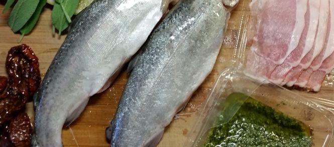 Heerlijk+visje,+simpel+te+bereiden+op+de+BBQ!