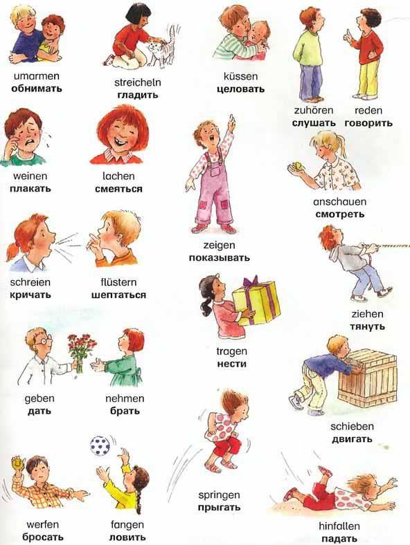 Deutsch Verben - German and Russian verbs - werkwoorden Duits en een beetje Russisch