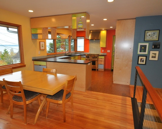 Colorful Kitchen Walls