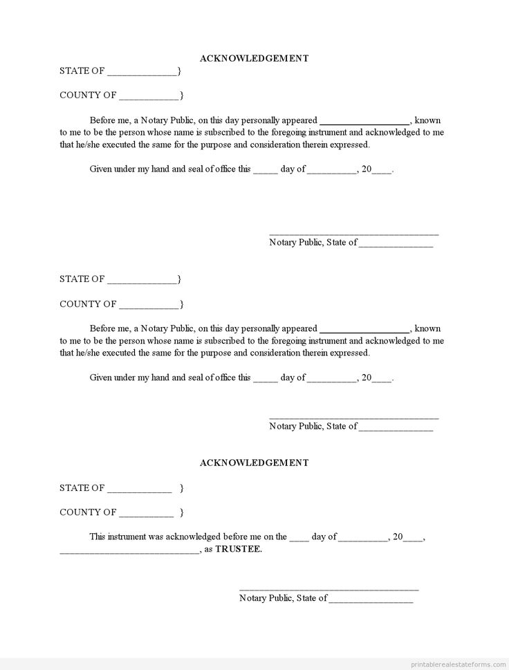1001 best Real Estate Forms to Print images on Pinterest Real - affidavit template word