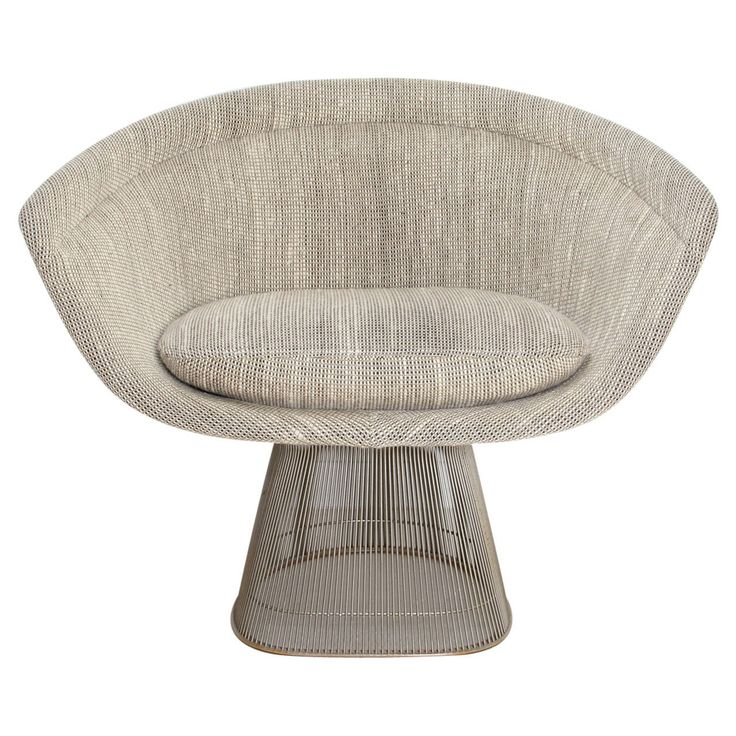 1966 Lounge Chair Designed By Warren Platner Produced By Knoll