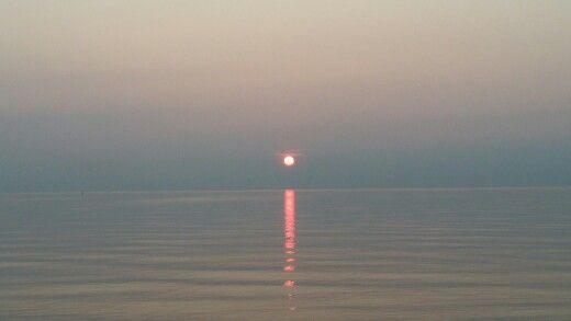 Sunset at sauble beach