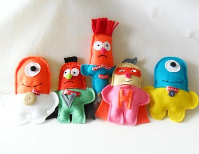 teawagontales: felt dollsCrafts Ideas, Felt Monster, Felt Stuffy, Boy Stuff, Crafty Toys, Felt Toys, Kids Crafts, Felt Crafts For Kids To Make, Boys Stuff