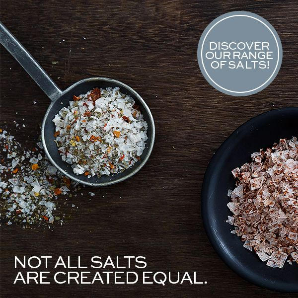 WIN! Get a free NOMU Cook's Salt Trio and learn all about NOMU's 17 types of premium quality, delicious salts and salt blends!