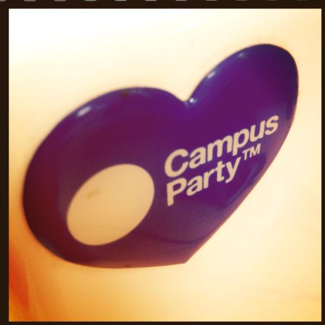 I love Campus Party #cpco5 ( entradas en super precio http://campuse.ro/entradascpco5 )