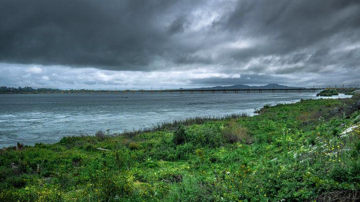 Río Bío Bío desde Concepción. Foto de Francisco Mendez Readi.