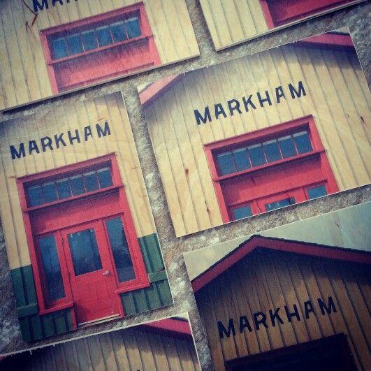 Markham Ontario themed postcards