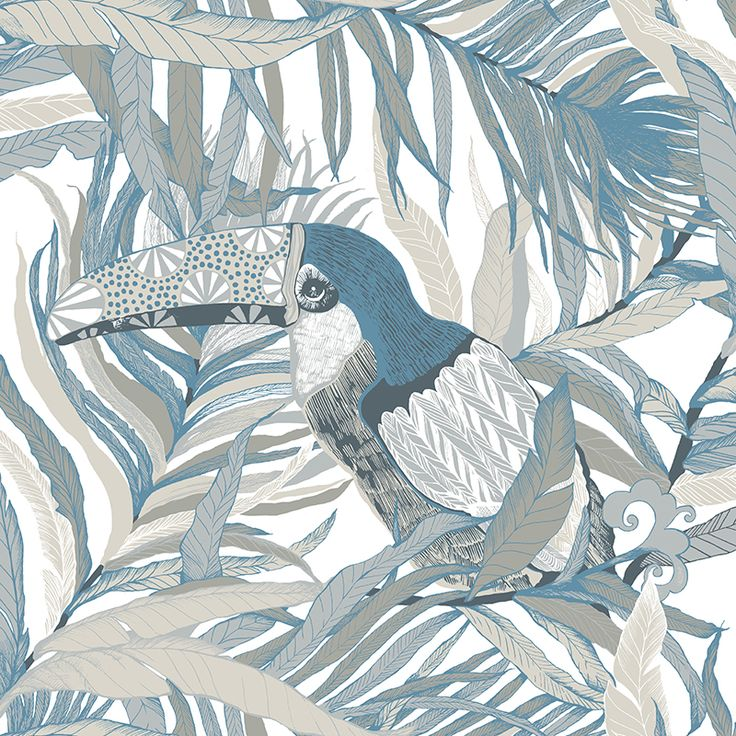 Kuiske turquoise by Saara Kurkela - Wallpapers / Tapetit