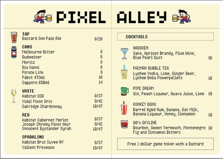 pixel-alley-menu
