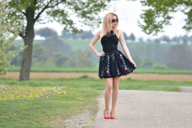 #góralska spódnica #słowiańska spódnica #folkowa #słowianka #folkowa odzież #cleo