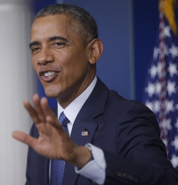 """Campaigning for Democrats in Ohio on Thursday, President Obama said most Republicans aren't like Trump and """"know better,"""" but hadn't renounced the kind of rhetoric Trump embraces out of deference to the Republican base.  Obama insisted they deserve no credit for their sudden change of heart after having"""
