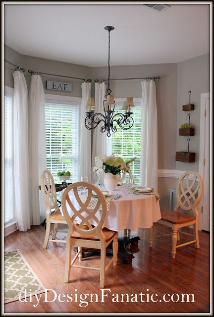 Best 25 Breakfast Nook Curtains Ideas On Pinterest