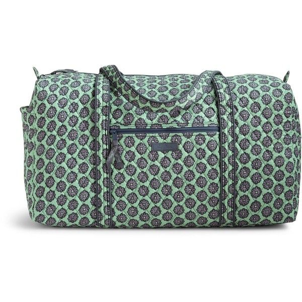 Vera Bradley Large Duffel 2.0 Travel Bag in Nomadic Blossoms ($85) ❤ liked on Polyvore featuring bags, luggage and nomadic blossoms