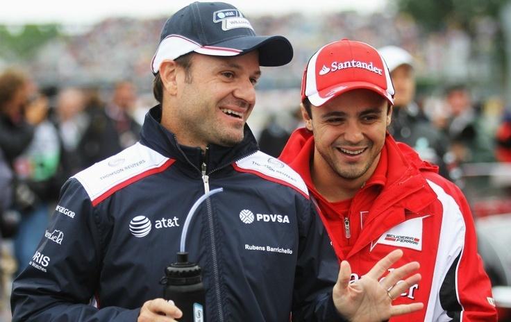 Rubinho e Massa :)