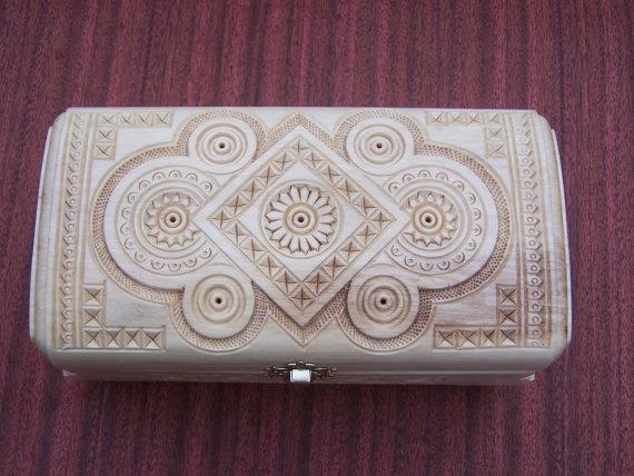 Ringbearer's box? $35 from an etsy seller in Poland